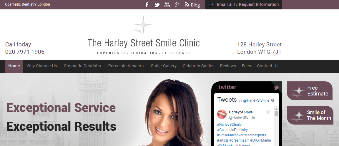 Digital marketing for cosmetic dentistry